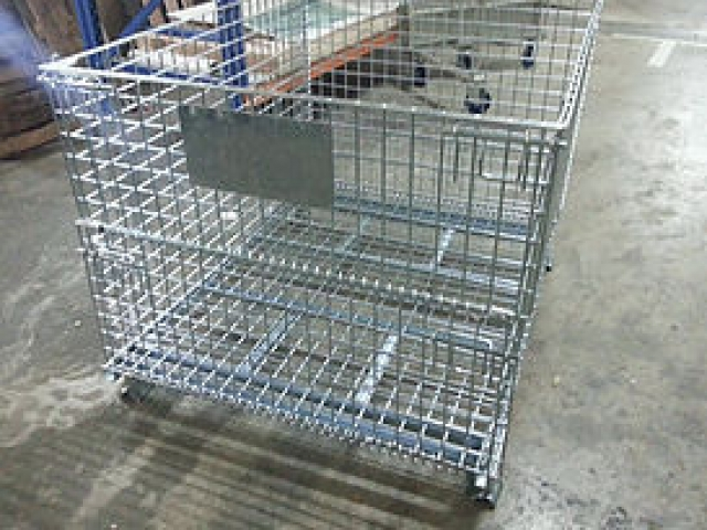 Foldable Wire Metal Cage