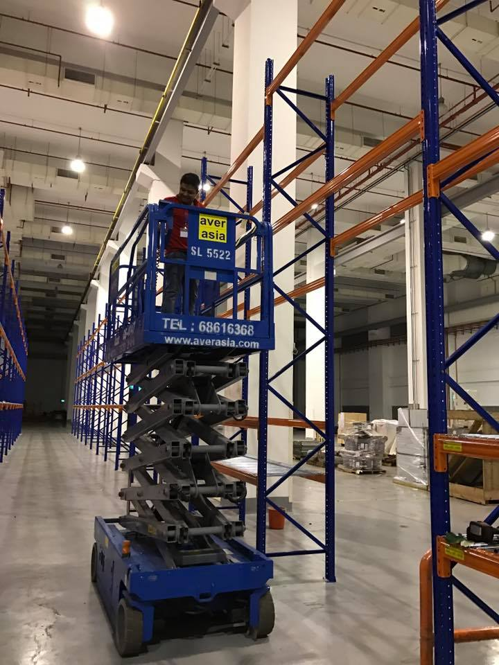 Install of Selective Pallet Racking System