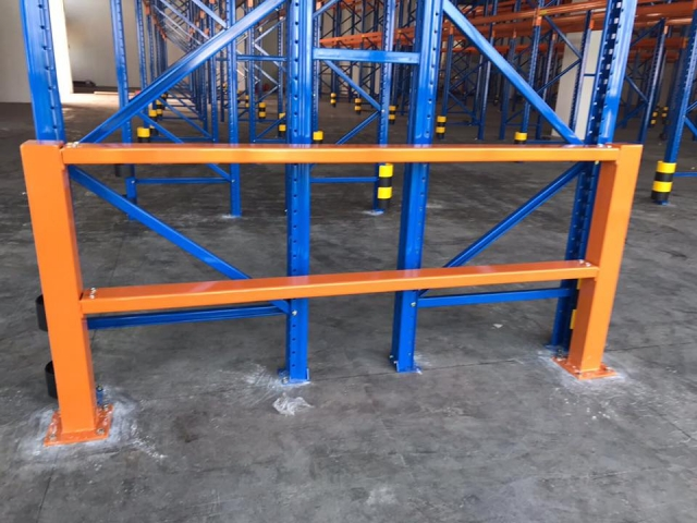 Protector Barrier secure pallet racking