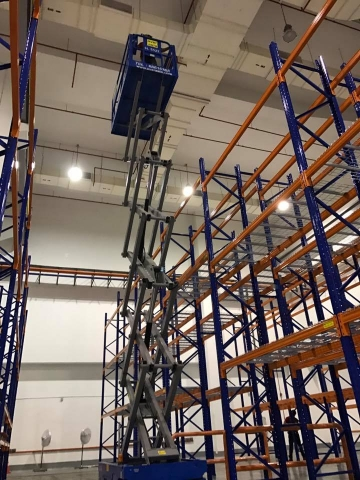 Wire Mesh Racking system