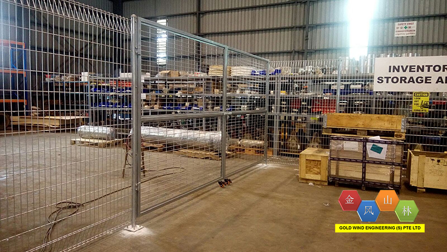 Galvanized Fencing System   Gold Wind Engineering Pte Ltd